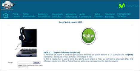 Portal de usuario Web