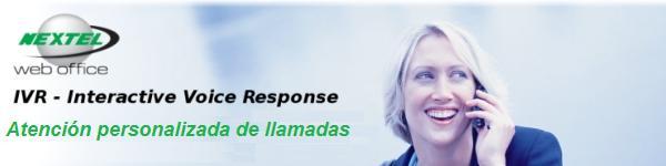 Nextel Web Office - IVR Interactive Voice Response
